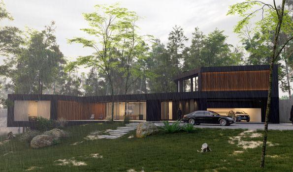 Atrakcyjna architektura w stylu skandynawskim dla każdego